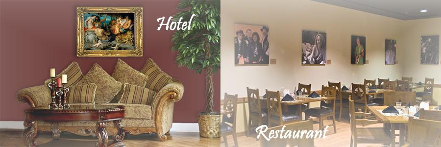 Tablouri pentru restaurante, cafenele, baruri, cluburi, hoteluri