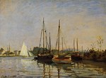 tablou claude monet   pleasure boats, 1872