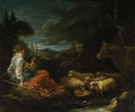 tablou francois boucher - pastoral (1730)