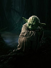 Tablou canvas yoda, star wars