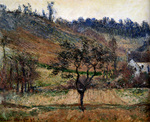 Tablou canvas monet, claude - the valley of falaise