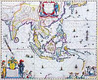 tablou harta veche india (2)