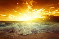 Tablou canvas apus de soare (131)