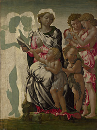 tablou michelangelo - 'the manchester madonna'