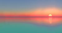 Tablou canvas apus de soare (137)