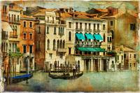 Tablou canvas venetia, vintage, italia (154)