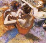 tablou 1899  edgar degas - danseuses