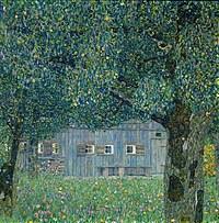 Tablou canvas Gustav Klimt - estate in upper austria (1911)