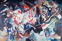 Tablou canvas kandinsky vasily - composition VI