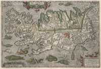 tablou Islanda, carta marina, 1590 (4)