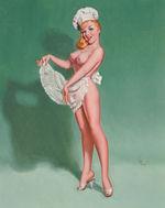 Tablou canvas nud illustration 4