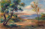 Tablou canvas renoir - seaside