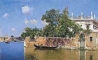 tablou martín rico - venetian landscape