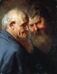 tablou rubens - two of the apostle