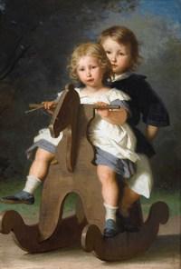 tablou alfred van muyden - childrens