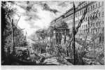 tablou piranesi - roma antica, alb negru 19