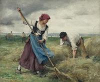 tablou julien dupre - harvesters