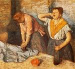 tablou 1882  edgar degas - les repasseuses