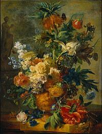 tablou flori, reproducere pictura (105), 1723