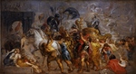 Tablou canvas pieter paul rubens - triumphal entry of henri iv in paris