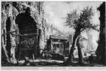 tablou piranesi - roma antica, alb negru 26