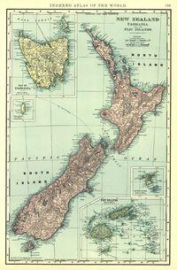 tablou harta veche pacific, 1898