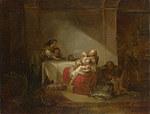 tablou jean honorc fragonard - interior scene