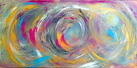 Tablou canvas abstract art (496)