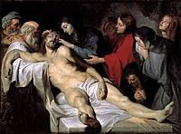 tablou rubens- lamentation (1614)