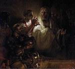 Tablou canvas rembrandt - peter (1660)