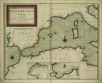 Tablou canvas mediterranean sea, 1702
