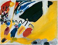 Tablou canvas vasily kandinsky - impression iii, 1911