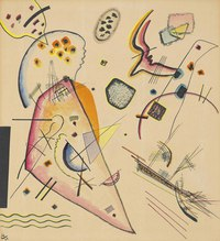 Tablou canvas kandinsky - untitled, 1922