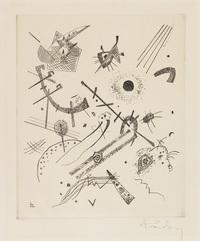 tablou wassily kandinsky - small worlds xi, 1922