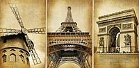 tablou paris, vintage (4)