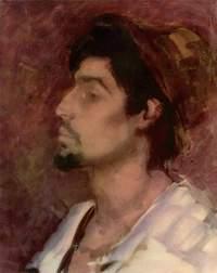 tablou nicolae grigorescu - portret