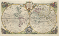 tablou The World, 1762