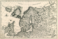 tablou Norvegia, Russia, 1699