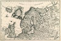 Tablou canvas Norvegia, Russia, 1699