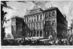 tablou piranesi - roma antica, alb negru 29