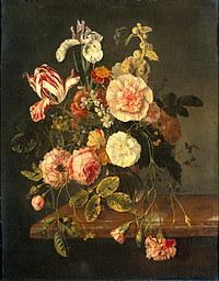 Tablou canvas flori, reproducere pictura (118), 1727