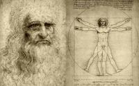 tablou leonardo da vinci - uomo vitruviano (2)