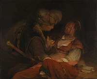 tablou aert de gelder - judah and tamar