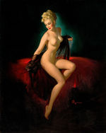 Tablou canvas nud illustration 2