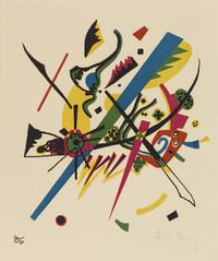 tablou wassily kandinsky - kleine welten i, 1922