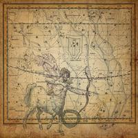 tablou star constellation, astrology map, 1820 (17)