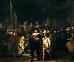 tablou rembrandt - night watch (1642)