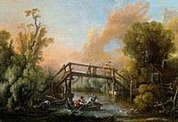 tablou francois boucher - landscape (1762)