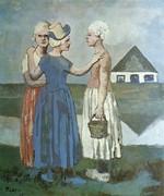 tablou picasso- three dutch girls [1905]
