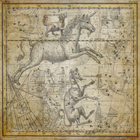 Tablou canvas star constellation, astrology map, 1820 (21)